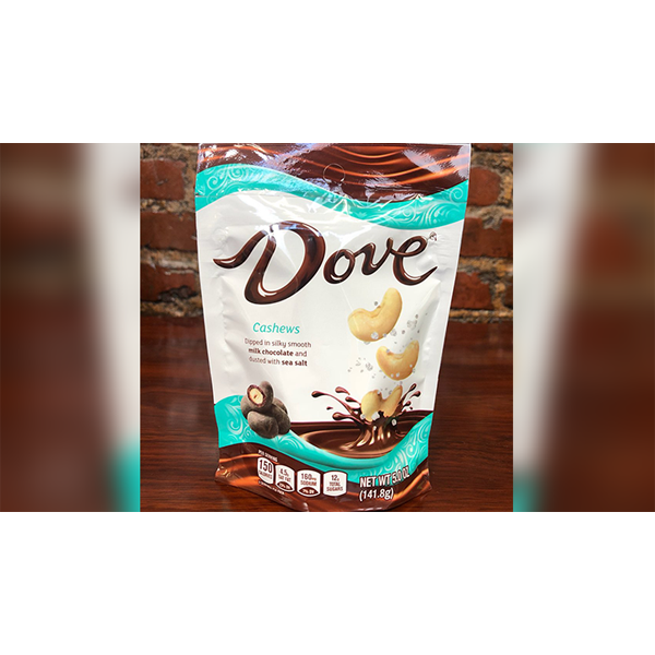 Dove Cashews Dipped in Silky Smooth Milk Chocolate and Dusted with Sea Salt