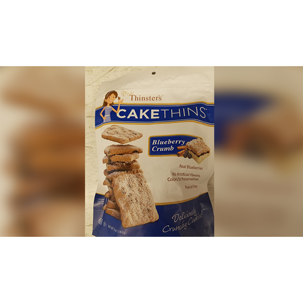 Cake Thins Blueberry Crumb